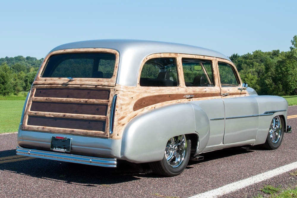 9d9d039e7 ... 1951 CHEVROLET STYLELINE DELUXE CUSTOM STATION WAGON - Rear 3/4 -  224912 ...