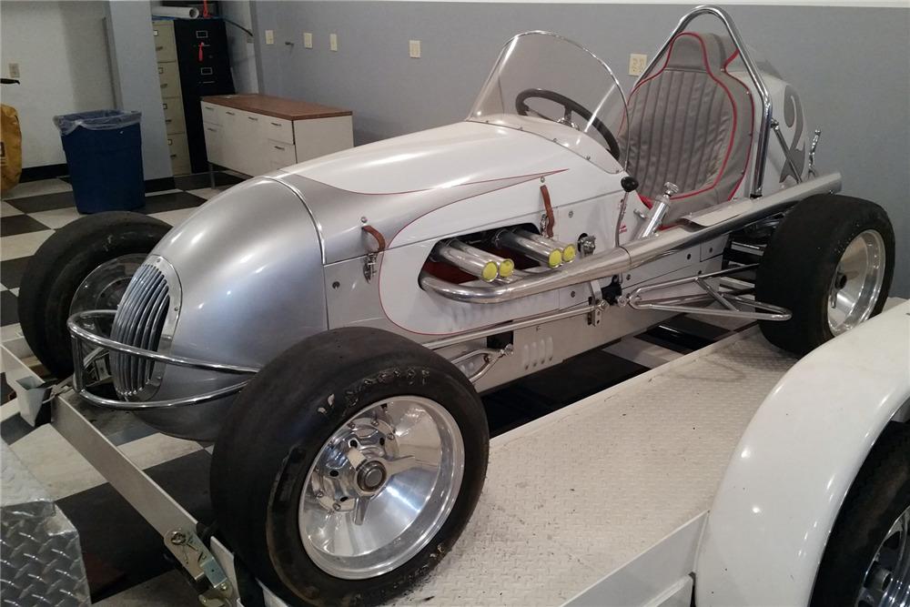 Usual Kurtis craft midget race car not understand