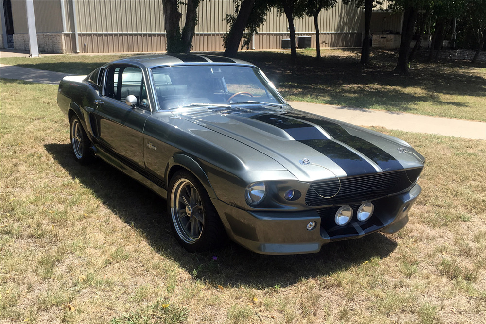1967 ford mustang custom fastback  gone in 60 seconds  eleano