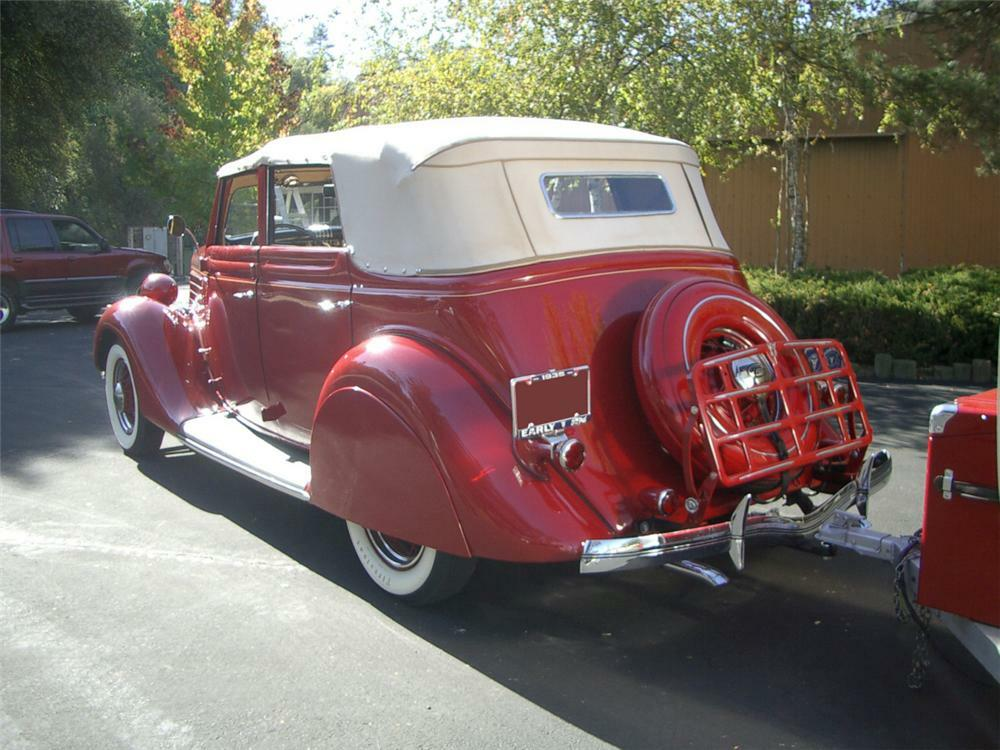 1935 Ford 4 Door Convertible Hot Rod