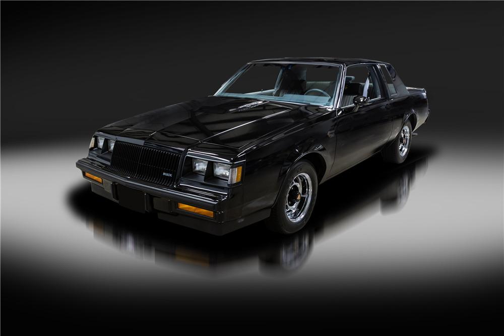 Buick Grand National Turbo Inspired Key Chain