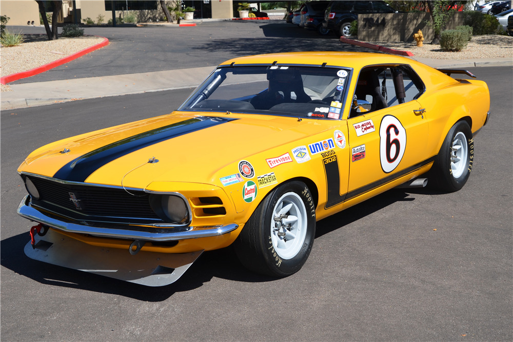 1970 Ford Mustang Boss 302 Fastback A S Race Car