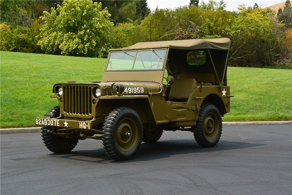1942 Ford Military Style Jeep