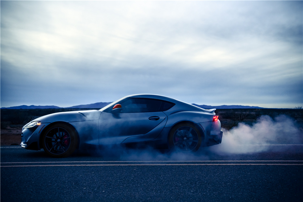 722d6415ca1 ... 2020 TOYOTA SUPRA - FIRST PRODUCTION VIN 20201 - Side Profile - 227933  ...