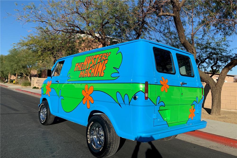 1968 FORD ECONOLINE CUSTOM 'MYSTERY MACHINE' VAN Scooby Doo Map In The Mystery Machine on scooby doo ruh-roh, scooby doo the mystery car, scooby doo adventures,