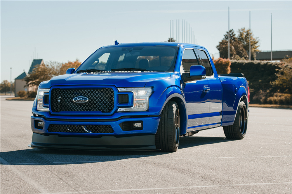 Custom F 150 >> 2018 Ford F 150 Lariat Sport Custom Super Cab 4x2