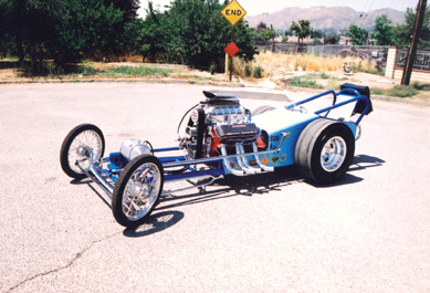 1960 CHASSIS RESEARCH DRAGSTER RAIL -