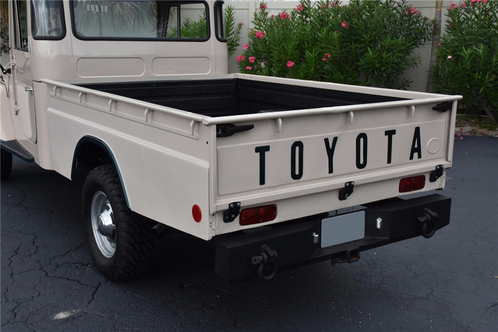 9a58332c875e ... 1967 TOYOTA LAND CRUISER FJ45 PICKUP - Rear 3 4 - 230049 ...