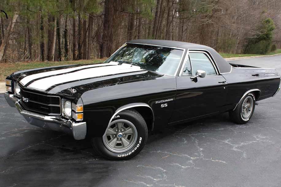 1971 Chevrolet El Camino Ss Re Creation
