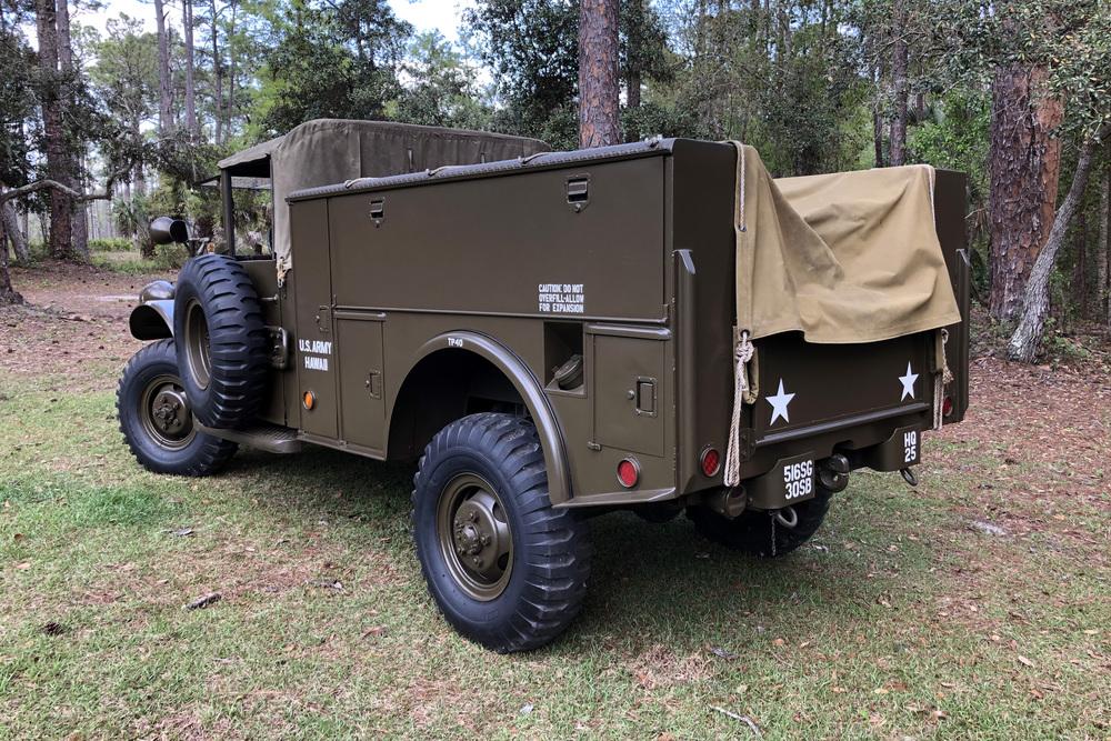 1961 dodge m37 pickup - rear 3/4 - 230370