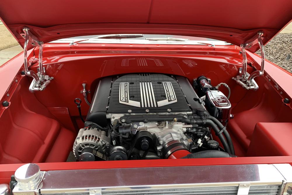 1955 CHEVROLET 150 CUSTOM 2-DOOR POST
