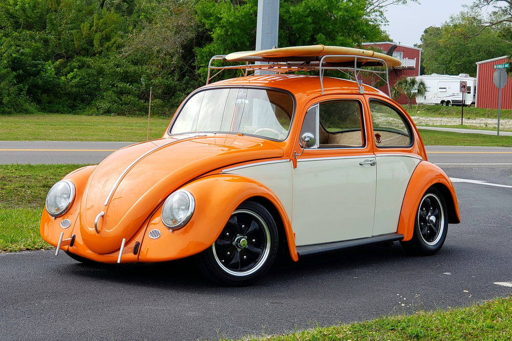 1966 VOLKSWAGEN BEETLE TYPE 1 CUSTOM SEDAN