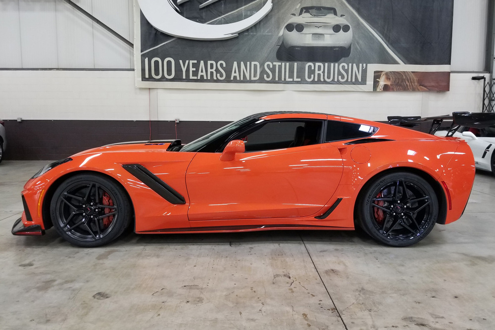 2019 CHEVROLET CORVETTE ZR1 C7