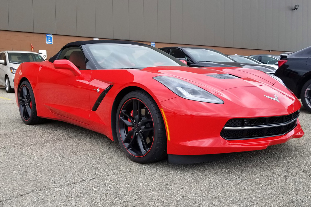 2019 Chevrolet Corvette Convertible Vin 001