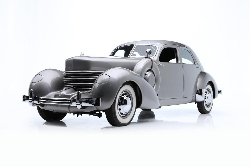 1937年 コード  B12 カスタム ビバリー アーマード セダン