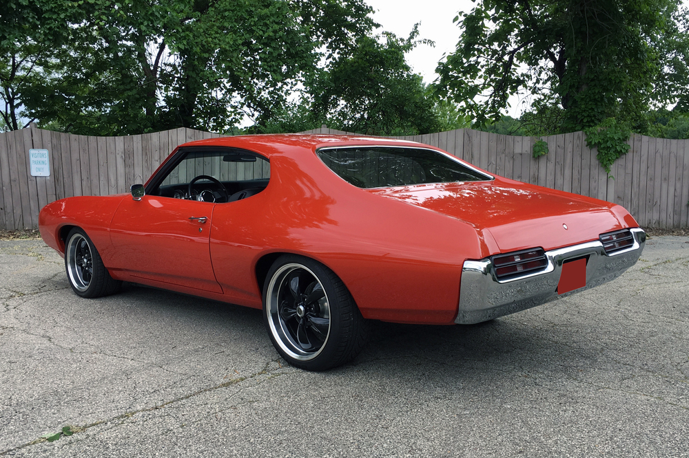 1969 PONTIAC GTO CUSTOM COUPE