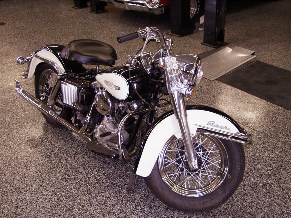 1966 HARLEY-DAVIDSON SHOVEL HEAD POLICE MOTORCYCLE -