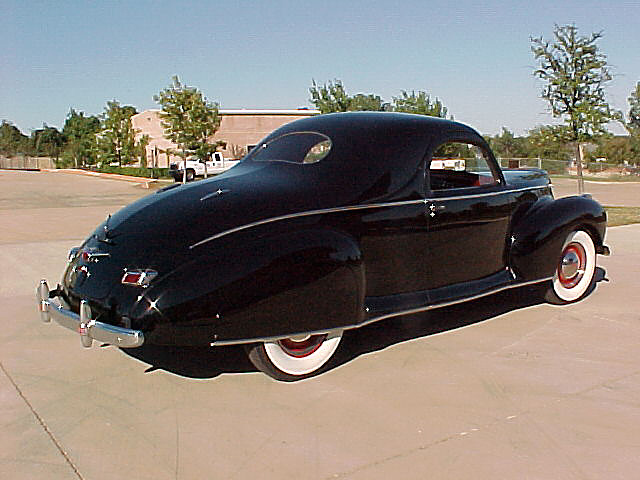 1941 Lincoln Zephyr 3 Window Coupe