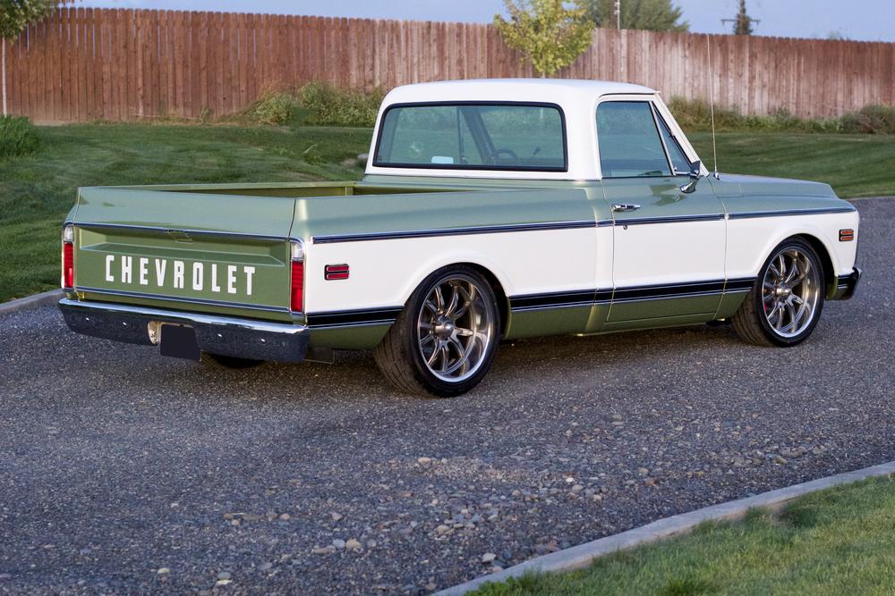 1970 Chevy Pickup >> 1970 Chevrolet C10 Custom Pickup