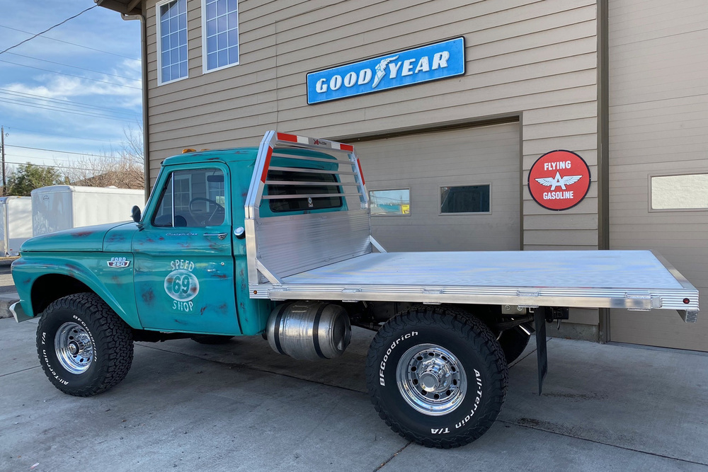 1965 Ford F 250 Custom Flatbed Pickup
