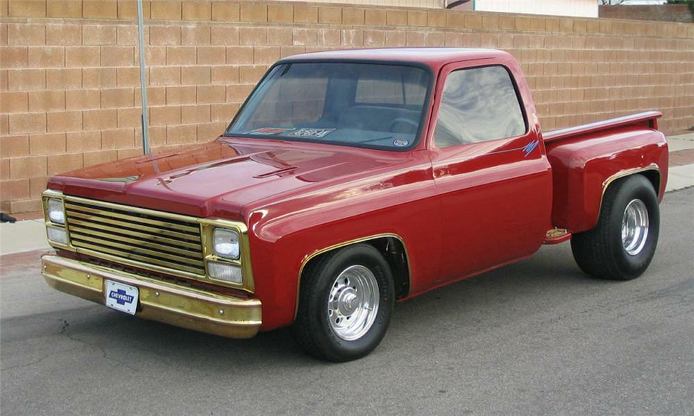 1975 CHEVROLET CUSTOM 1/2 TON PICKUP