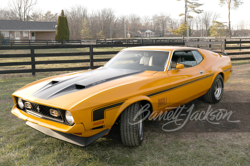 1972 フォード マスタング マッハ 1