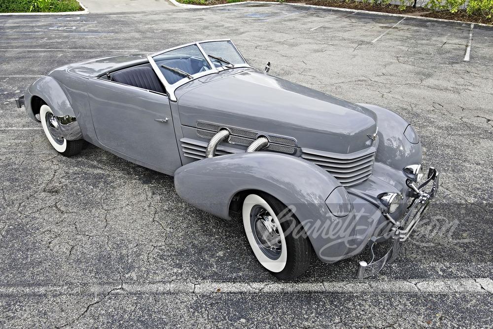 1937 コード 812 カブリオレ レ-クリエーション
