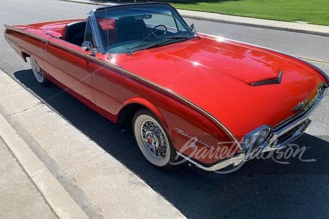 1962年 フォード サンダーバード スポーツ ロードスター