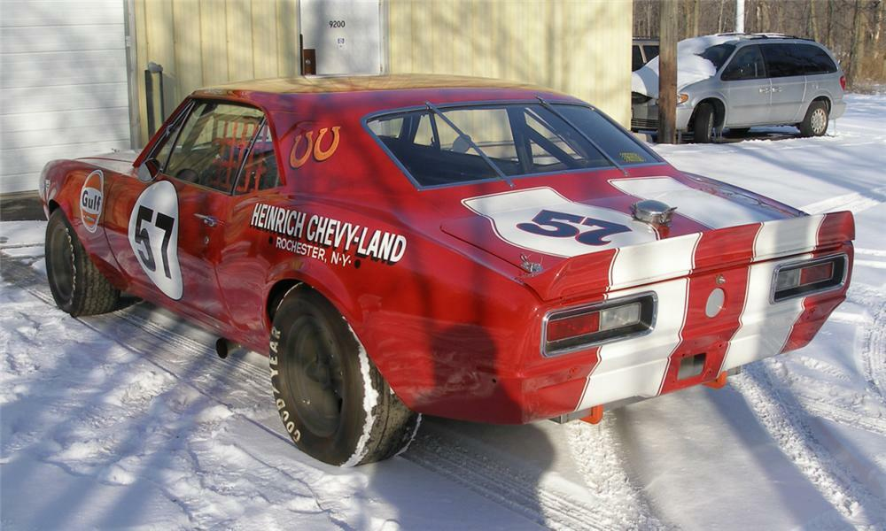 1967 Chevrolet Camaro Z 28 Race Car
