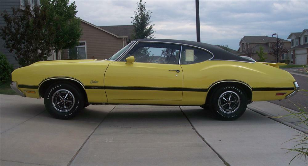 1970 OLDSMOBILE CUTLASS W31 HOLIDAY COUPE -