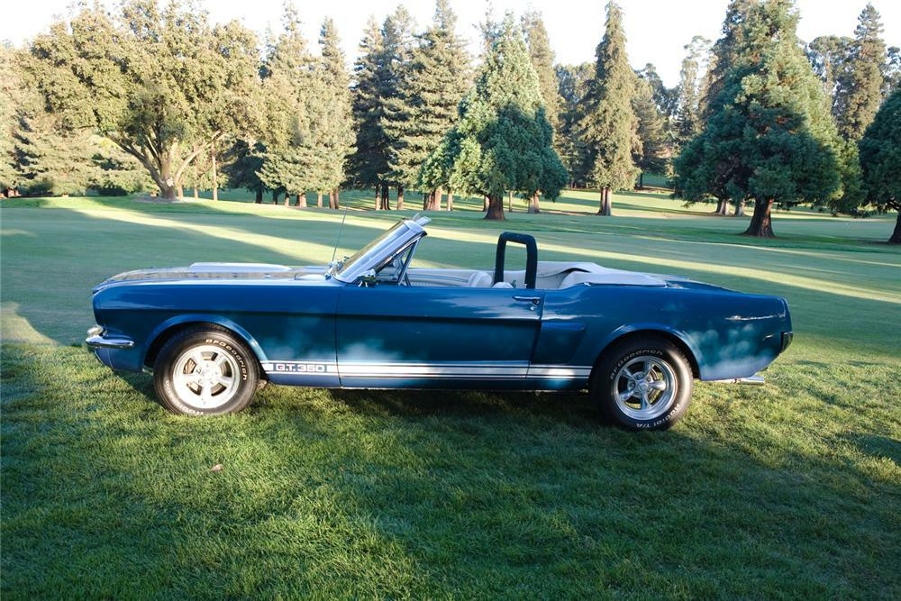 1966 Shelby Gt350 Convertible Side Profile 43814
