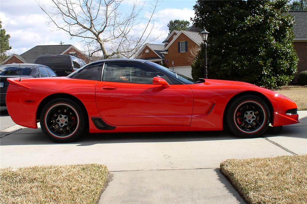 2002 Chevrolet Corvette Z06 Lingenfelter Custom Coupe