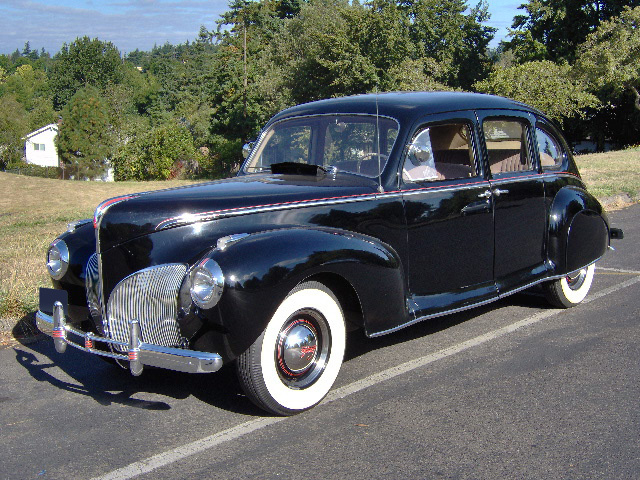 1941 Lincoln Zephyr 4 Door Sedan