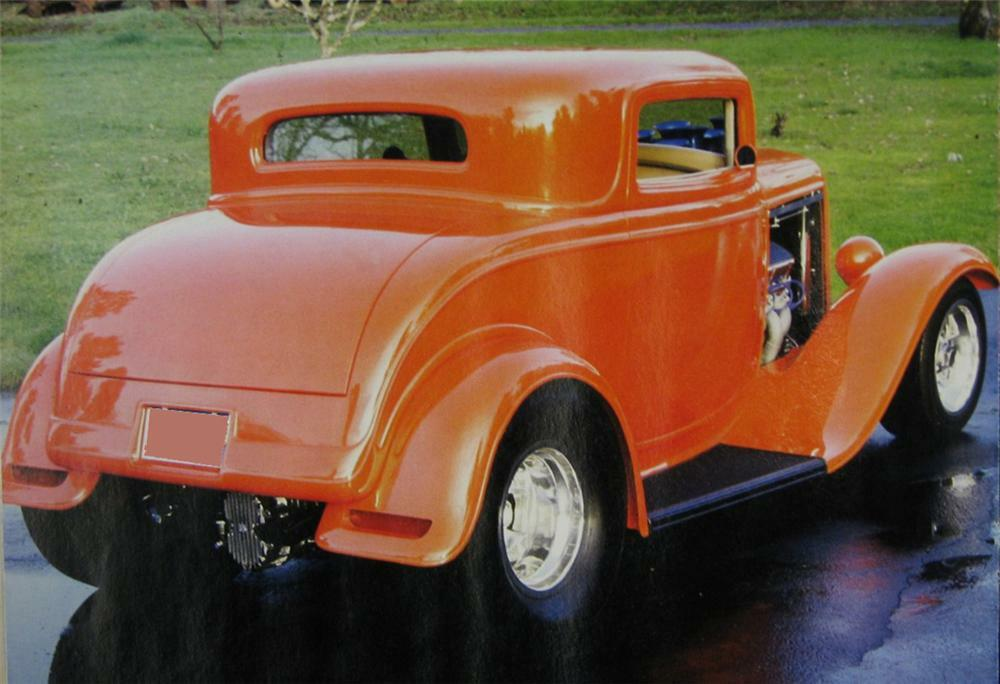 1932 FORD 3 WINDOW PRO-STREET COUPE
