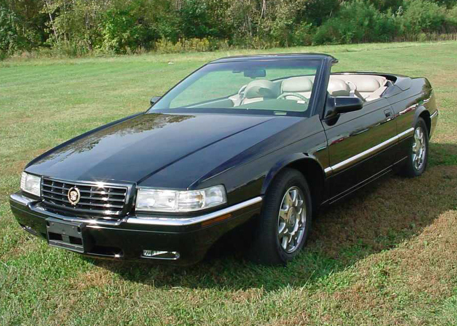 1997 cadillac eldorado 2 door convertible barrett jackson