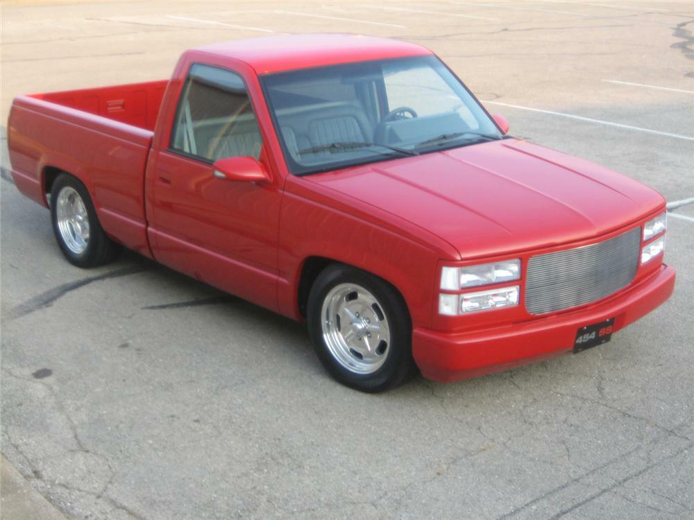 1992 Chevrolet 454ss Custom Pickup