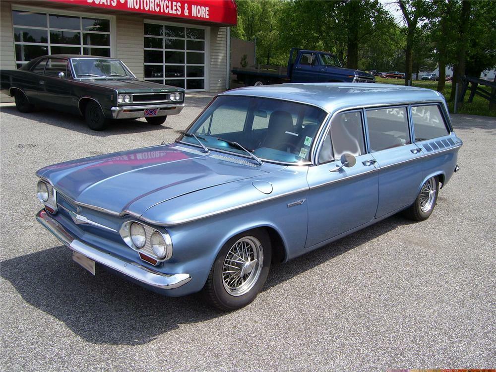 1961 Chevrolet Corvair Custom Lakewood Wagon