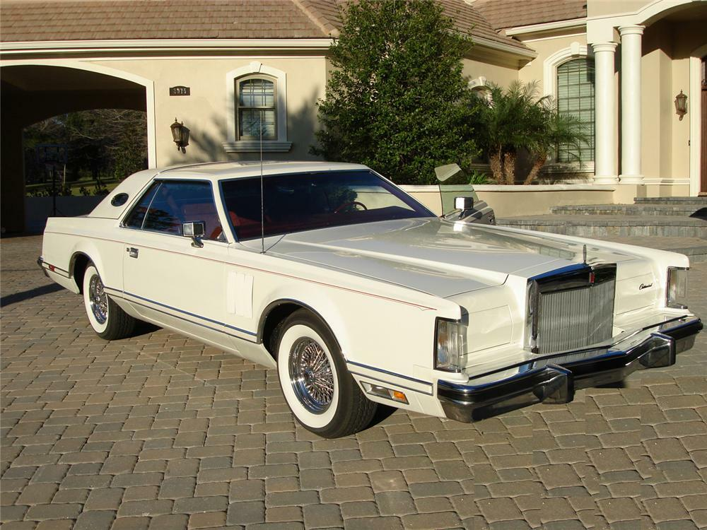 1979 LINCOLN CONTINENTAL MARK V 2 DOOR HARDTOP