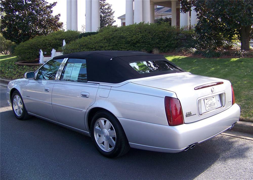 2003 Cadillac De Ville Custom 4 Door Convertible Rear 3 64047