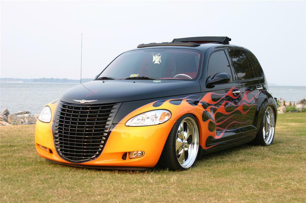 2002 Chrysler Pt Cruiser Custom 4 Door Hardtop Front 3 64138