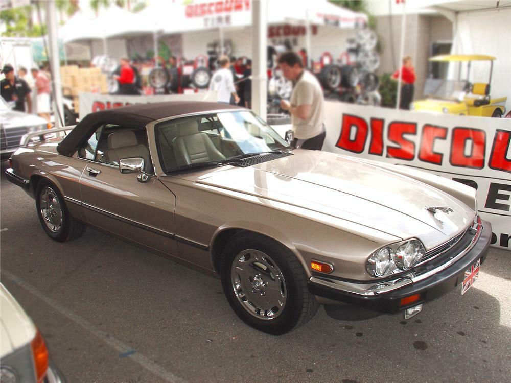 1991 Jaguar Xjs 2 Door Convertible Front 3 4 65299