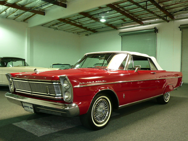 1965 Ford Galaxie 500 Xl 2 Door Convertible Front 3 4 70808