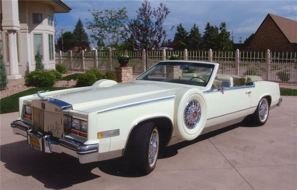 1981 cadillac eldorado custom convertible barrett jackson