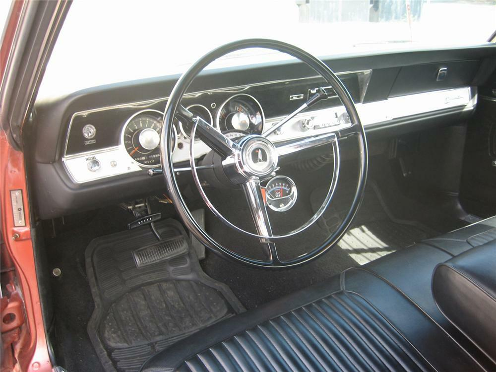 1967 PLYMOUTH BARRACUDA SPORT COUPE