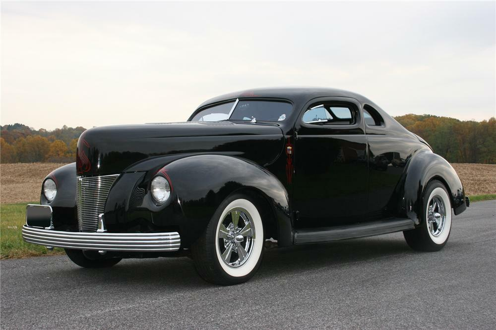 1940 Ford Deluxe 2 Door Hot Rod Coupe