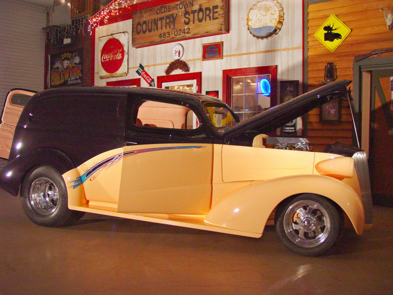1937 Chevrolet Custom Sedan Delivery