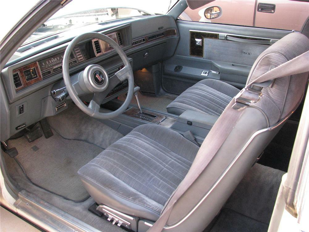 1985 OLDSMOBILE CUTLASS COUPE