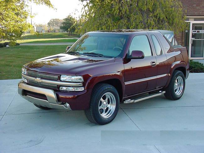 2000 CHEVROLET TAHOE 'K5' 2 DOOR SUV