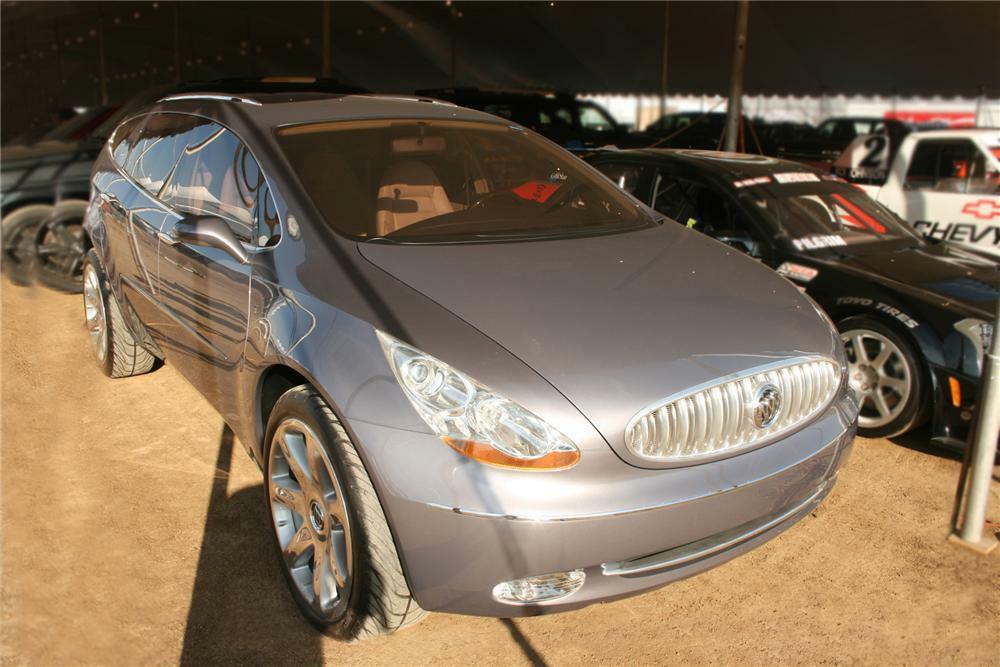 2003 Buick Centieme Concept Original Car Sales Brochure Enclave Preview