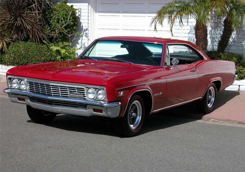 1966 Chevrolet Impala Ss 2 Door Hardtop